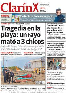 Un rayó mató a tres jóvenes en una playa de Villa Gesell. Más información: http://www.clarin.com/sociedad/mato-jovenes-playa-Villa-Gesell_0_1063693658.html