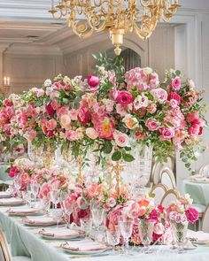 Feast your eyes on the royal vibes from this pretty in pink tablescape! Star Wedding, Wedding Table, Floral Wedding, Wedding Colors, Wedding Flowers, Wedding Ideas, Green Wedding, Summer Wedding, Wedding Reception