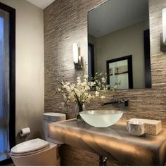 Photo Gallery Website  Modern Powder Room Design Ideas