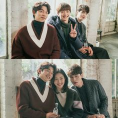 Gong Yoo, Sungjae (BTOB), Lee Dong Wook, and Kim Go Eun, Goblin: The Great and Lonely God