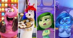 I got Bing Bong, Rainbow Unicorn, Disgust, and Sadness! Quiz: What's Your Inside Out DNA?   Movies