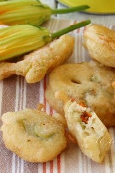 Zucchini, Antipasto, Food Lists, Fritters, Finger Foods, Italian Recipes, Barbecue, Shrimp, Good Food