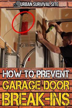 Disaster Preparedness, Survival Prepping, Survival Skills, Survival Gear, Garage Door Makeover, Garage Doors, Home Fix, Diy Home Repair, Urban Survival