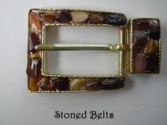 Women's Maroon Belt, Maroon Belt Buckle, Mookite Gold and Maroon JASPER, Ladies Belt Buckle, Gold Belt Buckle, Belts, Gemstone Belt Buckle by StonedBelts on Etsy