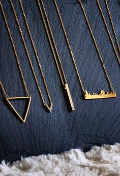 Thin is is! Accessorize everyday with simple pieces of beautiful jewelry