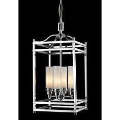 Altadore 4-Light Metal Foyer Pendant