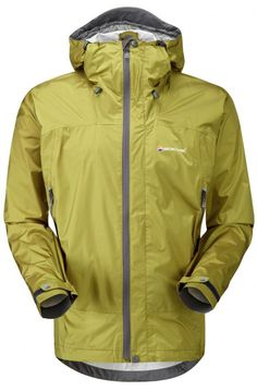 Ultralight Outdoor Gear: Mens Shell Jackets - Comparison Chart