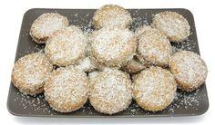 Pueden rellenarse estas galletas de coco y avellana con crema pastelera espesita o con Nocilla o Nutella a tu gusto.