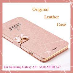 Originale portafoglio pu case di lusso in pelle fundas per samsung galaxy a5 2016 a5 + a510 a510f a5100 phone case + screen protezione