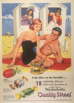 1950s advertisements candy