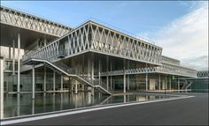 New National Archives of France by FUKSAS - I Like Architecture