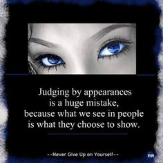 Judging .... Fb Cover Photos, Fb Covers, You Gave Up, Don't Judge, Giving Up, Third Eye, Never Give Up, Awakening, Wisdom