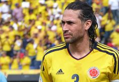 Mario Yepes, Captain of Colombia. I'm in love!