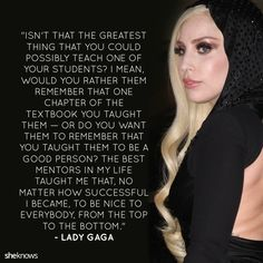 21 Lady Gaga quotes that'll make you want to be a better person: Gaga's best quotes