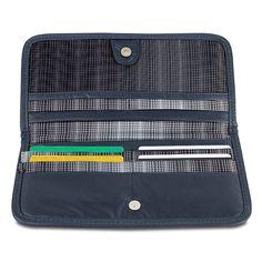 Travelon Safe ID Hack-Proof Ladies Wallet with RFID Blocking, Dark Gray #Travelon #Clutch