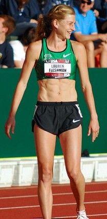 Lauren Fleshman Oregon track club!!  http://www.oakwayfit.com