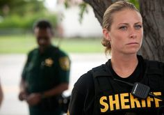 """Andrea Penoyer in """"Police Women of Broward County"""". My goal is to become a strong officer/sheriff like this woman!"""
