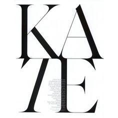 Kate Moss by Inez Van Lamsweerde Vinoodh Matadin ❤ liked on Polyvore featuring magazine