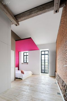 Firm: Anja Thede Architektur und Kommunikation im Raum. Project: 18th-century textile mill. Location: Frankfurt. Photography by Anne-Catherine Scoffoni.