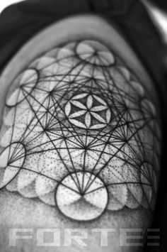 http://tattoo-ideas.us #Metatrons cube/ flower of life on Matt