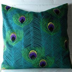 20x20 Decorative Designer Pillow Cover in Blue...