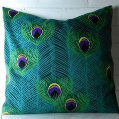 20x20 Decorative Designer Pillow Cover in Blue...