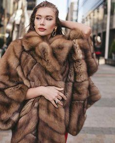Furs & Female, The Perfect Mixt. Sable Fur Coat, Fox Fur Coat, Fur Coats, Chinchilla, Fur Coat Fashion, Russian Winter, Sexy Women, Women Wear, Animal Fur