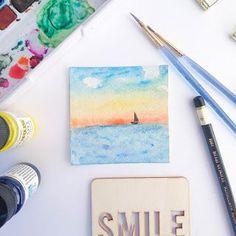 Ta Da! The 30 Day Watercolour Challenge!