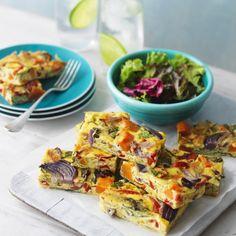 Baked Vegetable Slice