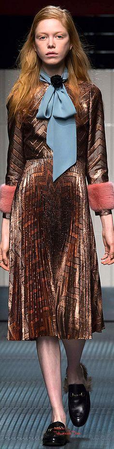 #Milan FW Gucci Fall 2015 RTW ♔THD♔