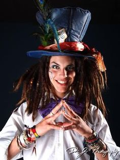 Mad Hatter with Dreads! #dreadstop