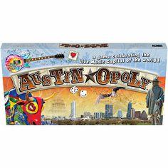 Austin-Opoly Board Game! #Austin #Games