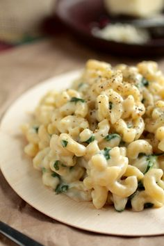 Havarti Spinach Mac and Cheese
