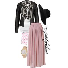 Apostolic Fashions #1072 by apostolicfashions on Polyvore featuring James Perse, maurices, Chicwish, Kate Spade, Avenue, Eugenia Kim, Uncommon, women's clothing, women's fashion and women