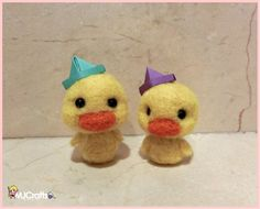 Sailor ducklings!! Needle felted by MJ Crafts