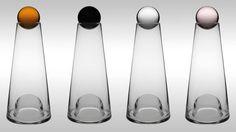 Glas mit Kristallkugel, 65 Euro. (Foto: Design House Stockholm)
