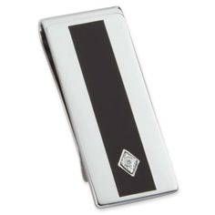 Enamel & Diamond Money Clip  found at @JCPenney