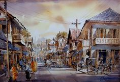 Watercolor Paintings By Marc Allante - 9 - Pelfind pelfind.co521 × 356Buscar por imagen old market painting watercolor paintings by thailand artist thanakorn chaijinda