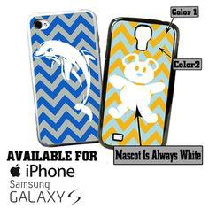 Sorority Chevron Phone Cases mascot pic of unicorn on website