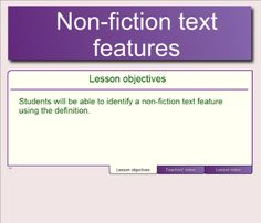 nonfiction-text-features