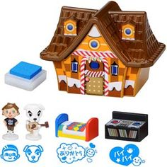 Animal Crossing Character Stamp Collection Snack House