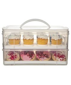 New Snapware 3 Layer Cupcake Cookie Cake Dessert Carrier Made In Usa Kitchen Bar Fun Cupcakes, Cupcake Cookies, Strawberry Cupcakes, Usa Food, Porta Cupcake, Cupcake Carrier, Cocinas Kitchen, Partys, Food Storage Containers