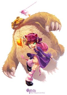 League of Legends: Annie by bcnyArt on DeviantArt Lol League Of Legends, Comic Character, Game Character, Character Design, Funny Character, Starcraft, League Of Legends Personajes, Legend Drawing, Fanart
