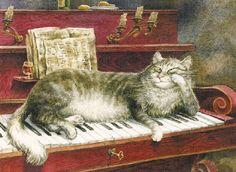 Katzen von Vladimir Rumjanzew