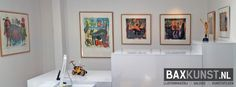 Expositie Jan van der Meulen 80 jaar - 2015   www.baxkunst.nl   #art #expo #baxkunst