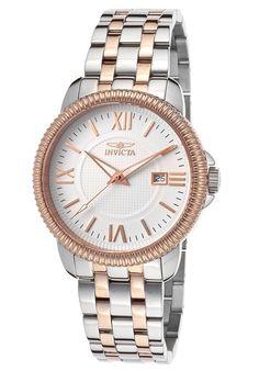 Invicta Watches Men's Specialty Two-Tone Steel White Dial 18107,    #Invicta,    #18107,    #Casual