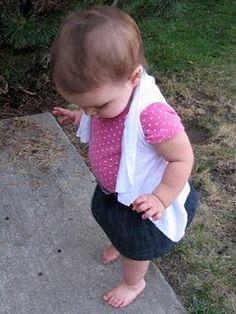 Toddler vest tutorial