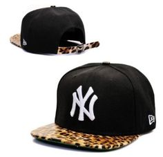 3d8870720a5 NEW New York Yankees Hat Cap Snapback Leopard New Era Snapback
