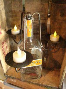Wine/ Liquor Bottle Candleabra
