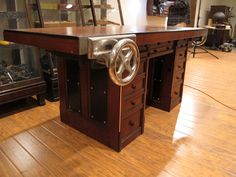 Henry O. Studley was a piano maker and he had a bench that suited his trade. And though we are still in the initial stages of researching his work, some accounts suggest that he was a craftsman who...
